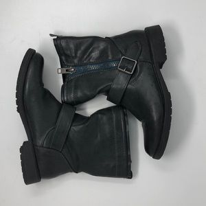 Madden Girl Faux Leather Short Boots